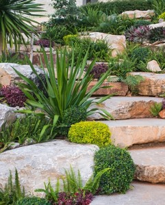 Rock retaining walls s a civil earthworkers for Landscape design jobs adelaide